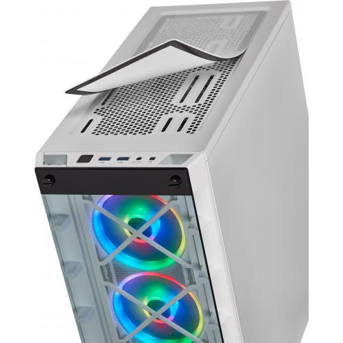 Corsair ICUE 465X RGB Mid Tower ATX Smart Case   White Alternate-Image5/500