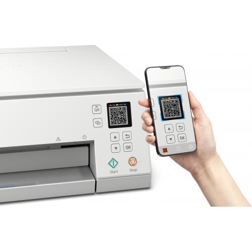 Canon PIXMA TS TS6320 White Inkjet Multifunction Printer   Color Alternate-Image5/500