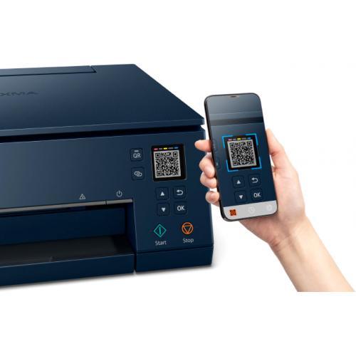 Canon PIXMA TS TS6320 Navy Inkjet Multifunction Printer   Color Alternate-Image5/500