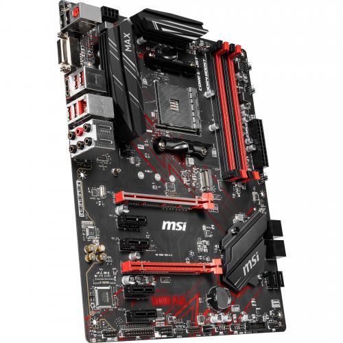 MSI B450 GAMING PLUS MAX Desktop Motherboard   AMD Chipset   Socket AM4   ATX Alternate-Image5/500