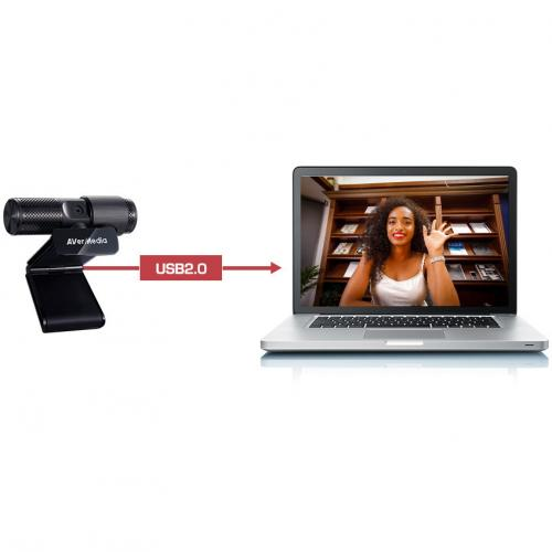 AVerMedia CAM 313 Webcam   2 Megapixel   USB 2.0 Alternate-Image5/500