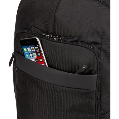 "Case Logic Notion Carrying Case (Backpack) For 17"" To 17.3"" Notebook   Black Alternate-Image5/500"