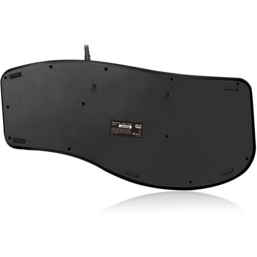 Adesso Desktop Ergonomic Smart Card Reader Keyboard (TAA Compliant) Alternate-Image5/500