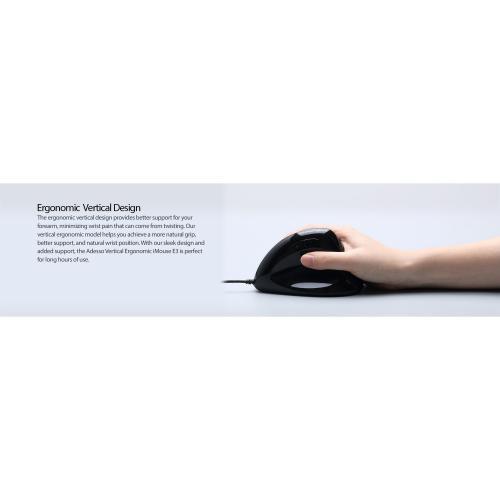 Adesso TAA Compliant Ergonomic Vertical Mouse Alternate-Image5/500