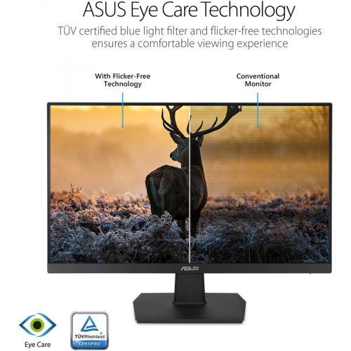 """Asus VA27EHE 27"""" Full HD WLED Gaming LCD Monitor   16:9   Black Alternate-Image5/500"""