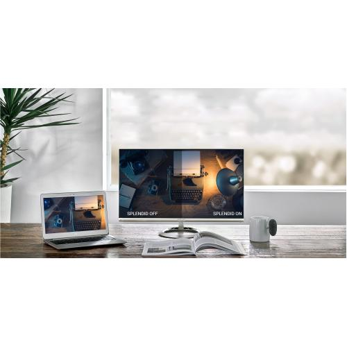 "Asus Designo MX27UCS 27"" 4K UHD LED LCD Monitor   16:9   Icicle Gold, Black Alternate-Image5/500"