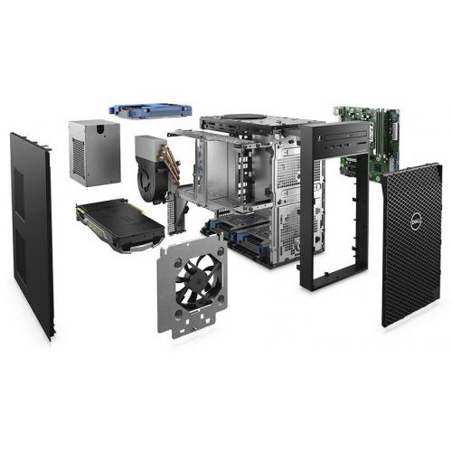 Dell Precision 3000 3630 Workstation   Core I7 I7 9700K   16 GB RAM   256 GB SSD   Mini Tower Alternate-Image5/500
