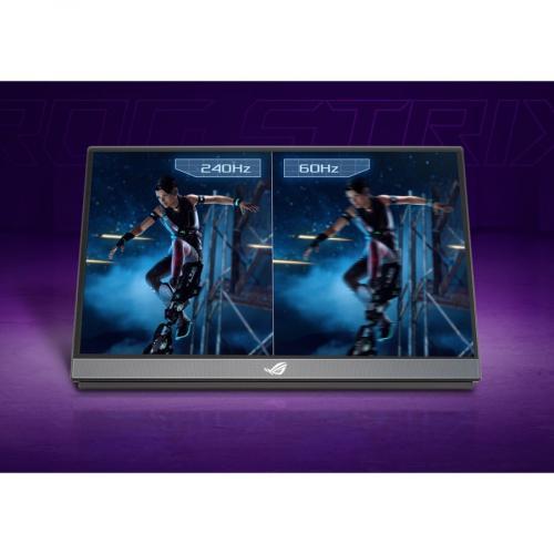 "Asus ROG Strix XG17AHPE 17.3"" Full HD Gaming LCD Monitor   16:9   Black Alternate-Image5/500"