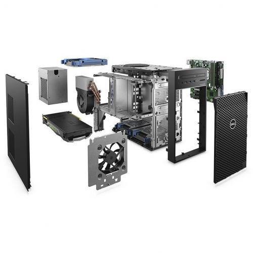 Dell Precision 3000 3630 Workstation   Core I7 I7 9700   32 GB RAM   512 GB SSD   Mini Tower Alternate-Image5/500