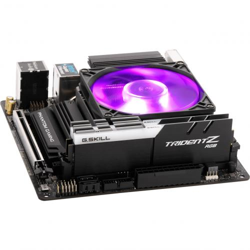 Cooler Master MasterAir G200P Low Profile 2 Heat Pipe Cooler With RGB Fan Alternate-Image5/500