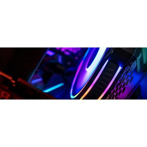 Cooler Master MasterFan MF120 Halo Duo Ring Addressable RGB Lighting 120mm Fan With Independently Controlled LEDs, Absorbing Rubber Pads, PWM Static Pressure For Computer Case & Liquid Radiator Alternate-Image5/500