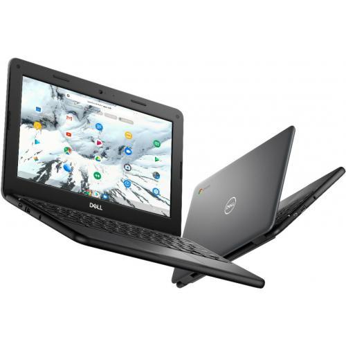 "Dell Chromebook 11 3000 3100 11.6"" Chromebook   HD   1366 X 768   Intel Celeron N4020 Dual Core (2 Core)   4 GB RAM   16 GB Flash Memory Alternate-Image5/500"