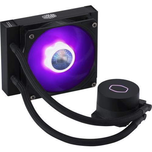 Cooler Master MasterLiquid ML120L V2 RGB Cooling Fan/Radiator/Water Block Alternate-Image5/500