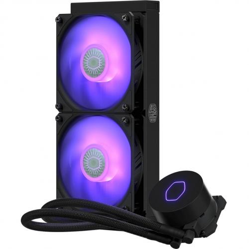 Cooler Master MasterLiquid ML240L V2 RGB RGB Cooling Fan/Radiator/Water Block Alternate-Image5/500
