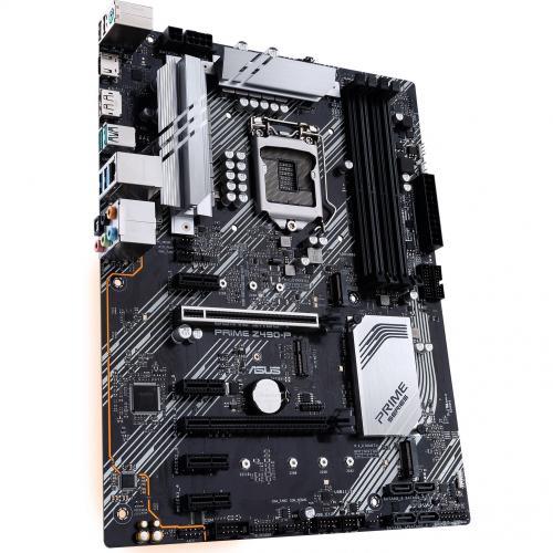 Asus Prime Z490 P Desktop Motherboard   Intel Chipset   Socket LGA 1200 Alternate-Image5/500