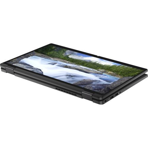 """Dell Latitude 7000 7410 14"""" Touchscreen 2 In 1 Notebook   Full HD   1920 X 1080   Intel Core I7 (10th Gen) I7 10610U Quad Core (4 Core) 1.80 GHz   16 GB RAM   256 GB SSD   Aluminum Titan Gray Alternate-Image5/500"""