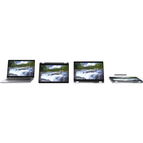 """Dell Latitude 5000 5310 13.3"""" Touchscreen 2 In 1 Notebook   Full HD   1920 X 1080   Intel Core I7 (10th Gen) I7 10610U Quad Core (4 Core) 1.80 GHz   16 GB RAM   256 GB SSD   Titan Gray Alternate-Image5/500"""