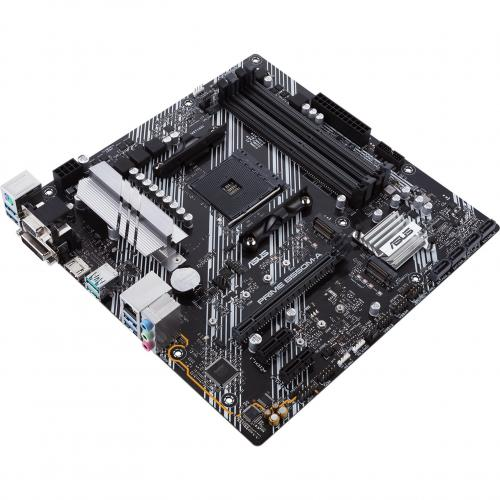 Asus Prime B550M A/CSM Desktop Motherboard   AMD Chipset   Socket AM4   Micro ATX Alternate-Image5/500