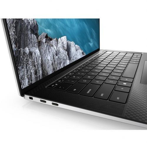 "Dell XPS 15 9500 15.6"" Touchscreen Notebook   3840 X 2400   Intel Core I7 (10th Gen) I7 10750H Hexa Core (6 Core)   32 GB RAM   1 TB SSD   Platinum Silver, Carbon Fiber Black Alternate-Image5/500"