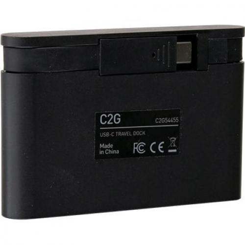 C2G USB C Dock With HDMI, USB, Ethernet, USB C & Power Delivery Up To 100W Alternate-Image5/500