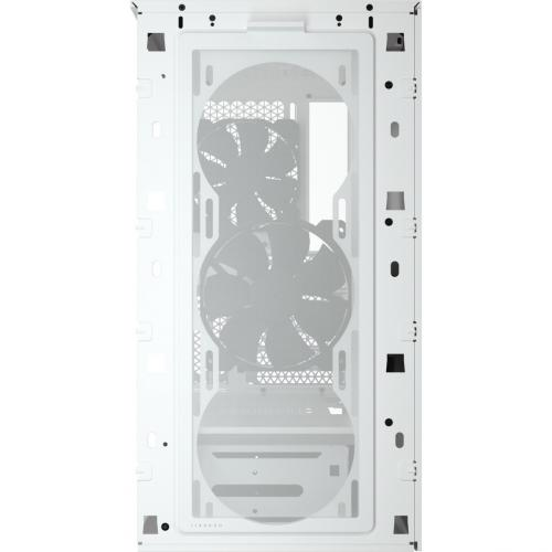 Corsair 4000D Tempered Glass Mid Tower ATX Case   White Alternate-Image5/500