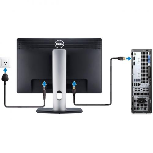 Dell OptiPlex 5000 5080 Desktop Computer   Intel Core I5 10th Gen I5 10500 Hexa Core (6 Core) 3.10 GHz   8 GB RAM DDR4 SDRAM   256 GB SSD   Small Form Factor   Black Alternate-Image5/500
