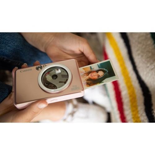 Canon IVY CLIQ+2 8 Megapixel Instant Digital Camera   Rose Gold Alternate-Image5/500