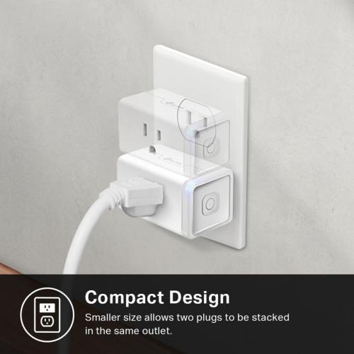 Kasa Smart WiFi Plug Slim With Energy Monitoring Alternate-Image5/500