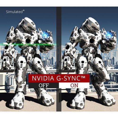 "Viewsonic Elite XG270Q 27"" LED Gaming Monitor Black   2560 X 1440 LCD Display   120 Hz Refresh Rate   16.7 Million Colors   1ms Response Time   Backlight LED Technology Alternate-Image5/500"