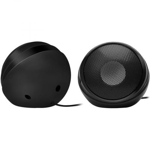 Adesso Xtream S4 USB Powered Desktop Computer Speaker With Dynamic Sound   5W X 2 Alternate-Image5/500