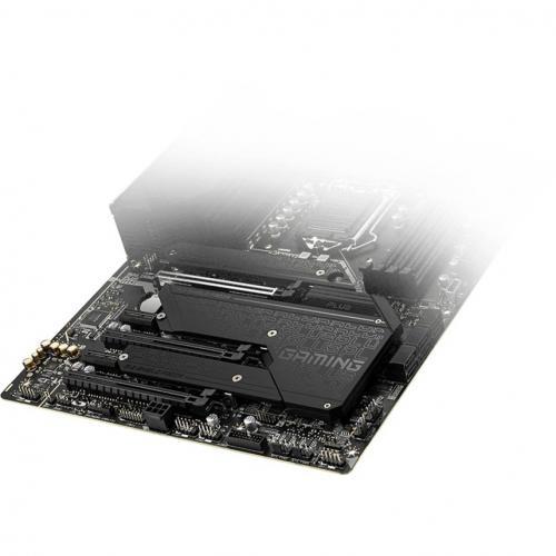 MSI MPG Z590 GAMING PLUS Desktop Motherboard   Intel Chipset   Socket LGA 1200   Intel Optane Memory Ready   ATX Alternate-Image5/500