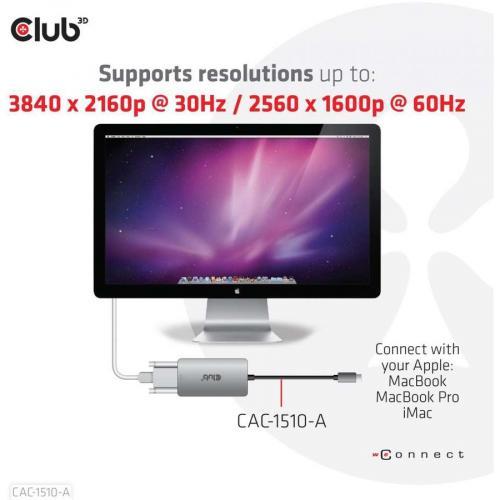 Club 3D DVI D/USB C Video Adapter Alternate-Image5/500