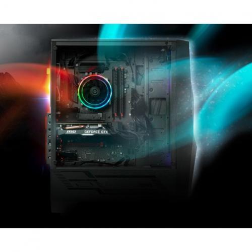 "MSI Codex R 10SI 029US Gaming Desktop Computer   Intel Core I5 10th Gen I5 10400F Hexa Core (6 Core) 2.90 GHz   16 GB RAM DDR4 SDRAM   1 TB HDD   240 GB 2.5"" Serial ATA SSD Alternate-Image5/500"