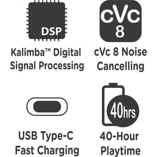 Morpheus 360 Aspire 360 HP7750B Wireless Over Ear Headphones   Bluetooth 5.0 Headset With Microphone Alternate-Image5/500