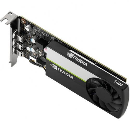 PNY NVIDIA T400 Graphic Card   2 GB GDDR6   Low Profile Alternate-Image5/500