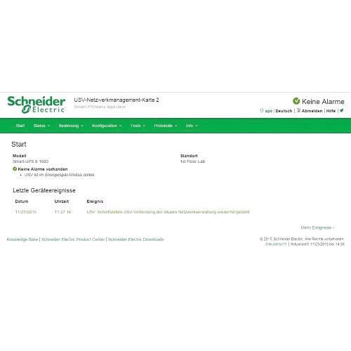 APC UPS Network Management Card Alternate-Image6/500