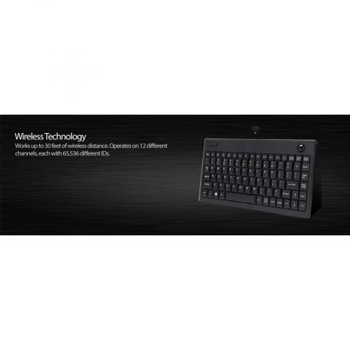 Adesso WKB 3100UB Wireless Keyboard Alternate-Image6/500