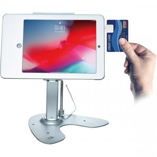 CTA Digital Anti Theft Security Kiosk Stand???For Ipad 2 4 & Ipad Air 1 2 Alternate-Image6/500