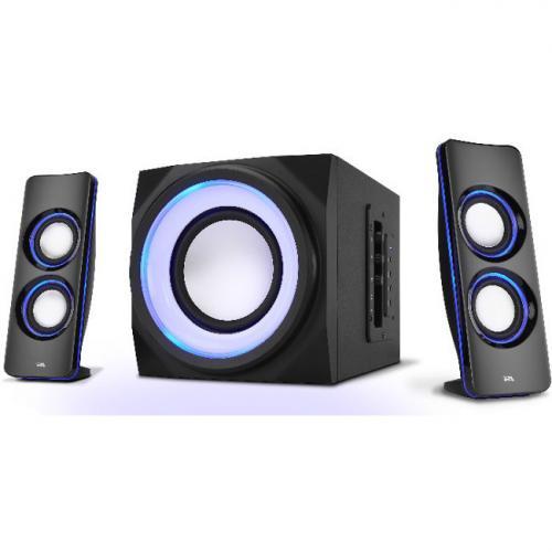 Cyber Acoustics Curve CA 3712BT 2.1 Bluetooth Speaker System   Black Alternate-Image6/500