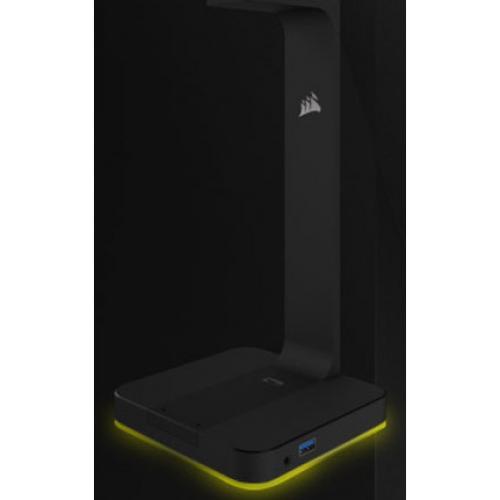 Corsair ST100 RGB Premium Headset Stand With 7.1 Surround Sound Alternate-Image6/500