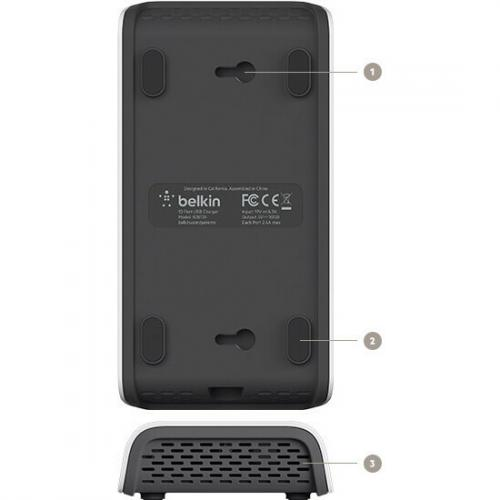 Belkin RockStar 10 Port USB Charging Station Alternate-Image6/500