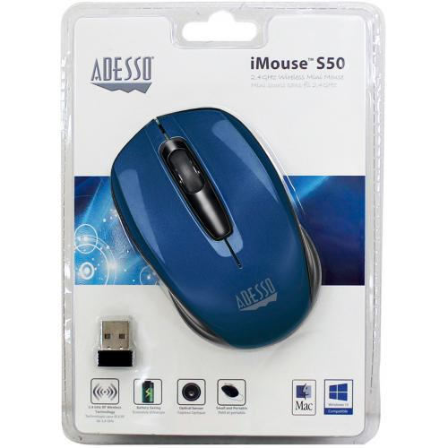 Adesso IMouse S50L   2.4GHz Wireless Mini Mouse Alternate-Image6/500
