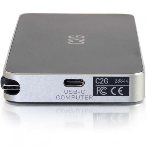 C2G USB C Dock With HDMI, DisplayPort, VGA & Power Delivery Up To 60W Alternate-Image6/500