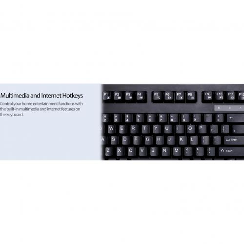 Adesso EasyTouch 425   Rackmount Touchpad Keyboard Alternate-Image6/500