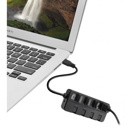 Adesso AUH 3040   4 Port USB 3.0 Hub Alternate-Image6/500