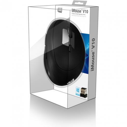 Adesso IMouse V10   Wireless Vertical Ergonomic Mini Mouse Alternate-Image6/500