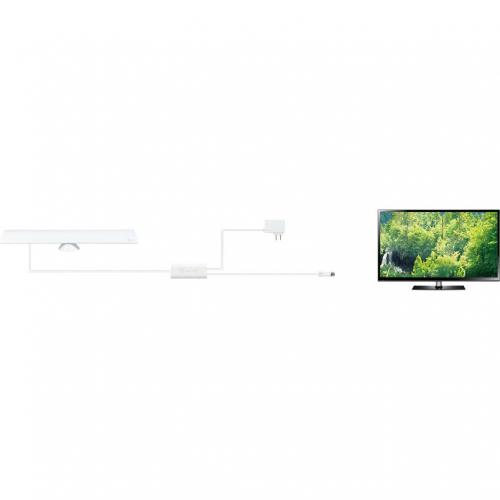 ANTOP Clearbar Indoor HDTV Antenna | Smartpass Amplified Alternate-Image6/500