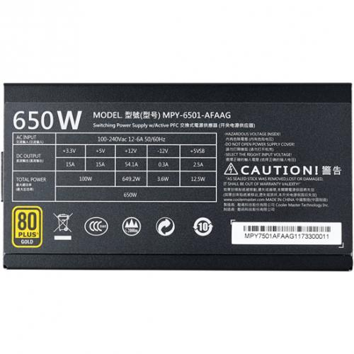 Cooler Master MWE Gold 650 Full Modular Alternate-Image6/500