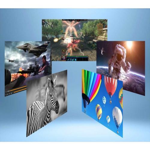 "Viewsonic VX3276 Mhd 31.5"" Full HD LED LCD Monitor   16:9   Metallic Silver Alternate-Image6/500"