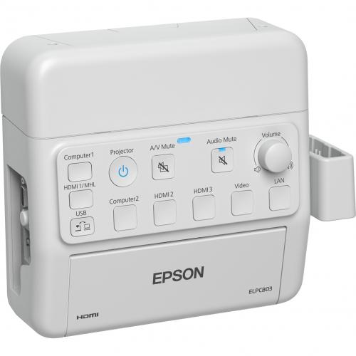 Epson PowerLite Pilot 3 Connection And Control Box Alternate-Image6/500